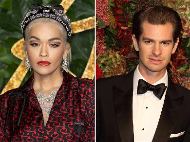 Rita Ora Laughs Off Question About Rumored Beau Andrew Garfield