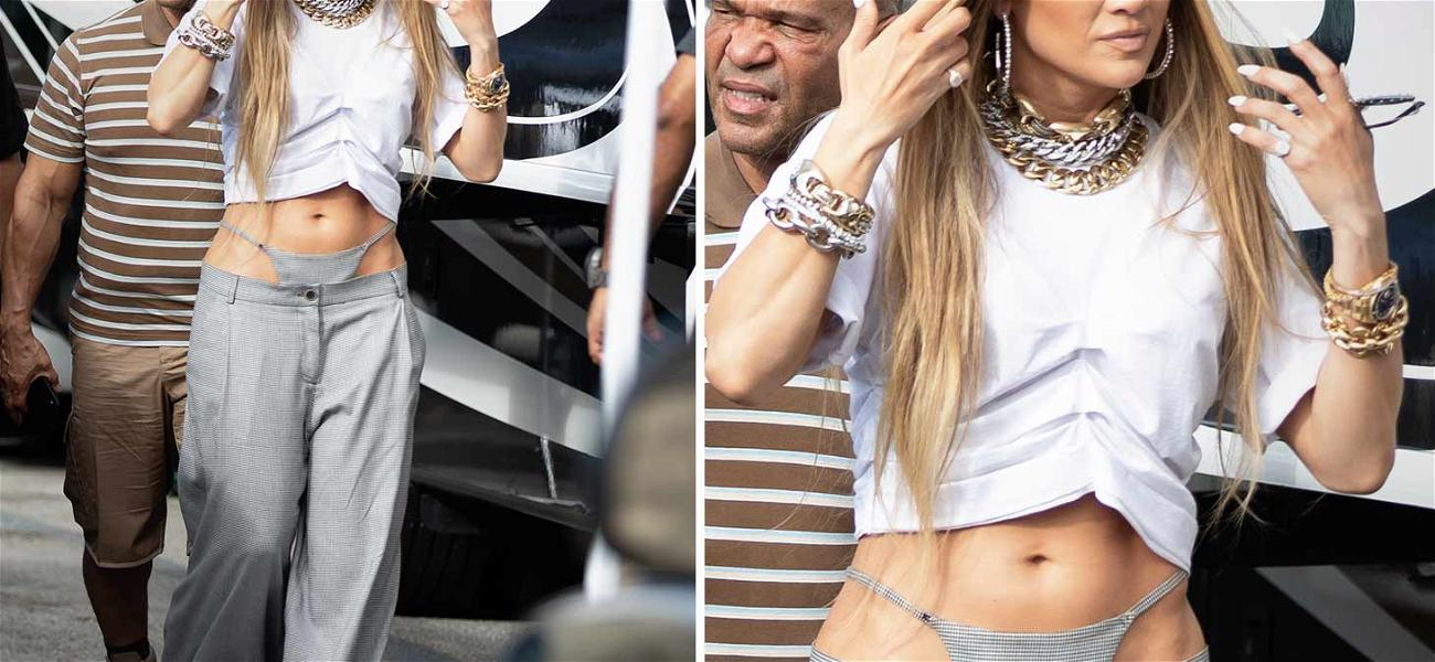 Jennifer Lopez May Not Be Sure How Underwear Works