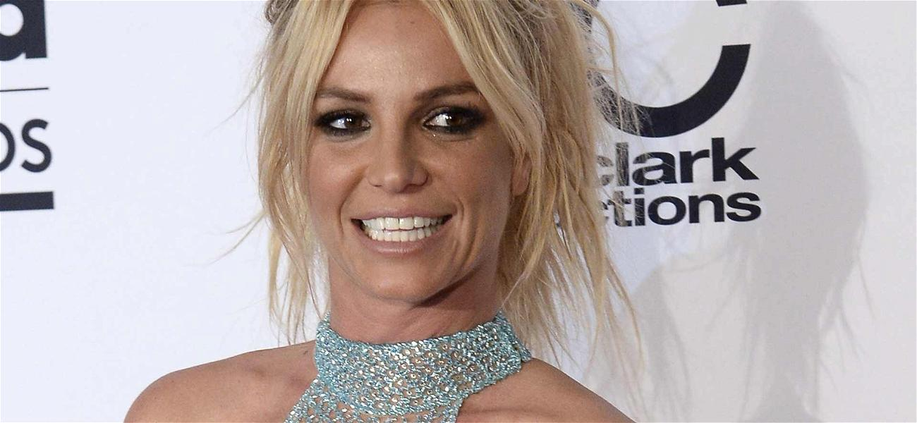 Britney Spears All Backless For Wedding Bell Bend Over