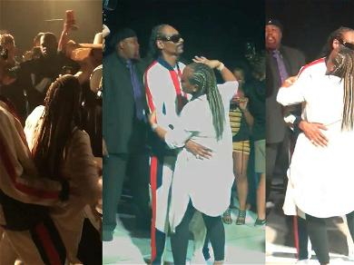 Snoop Dogg Bumps & Grinds With Wife During Mother's Day Celebration