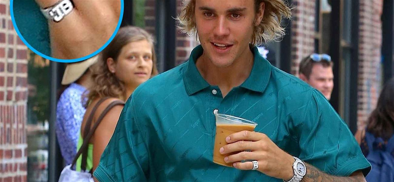 Justin Bieber Gets Iced Up for Iced Coffee Run