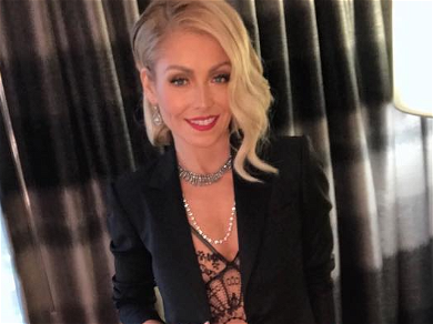 Kelly Ripa Flaunts Tiny Waist After Weight Concerns