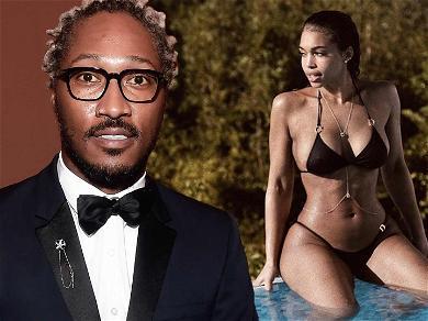 Future Thanks God For Girlfriend Lori Harvey's Tight Bikini Body