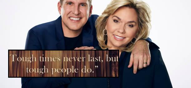 Todd Chrisley Posts About 'Tough Times' And God, But Fans Aren't Having It