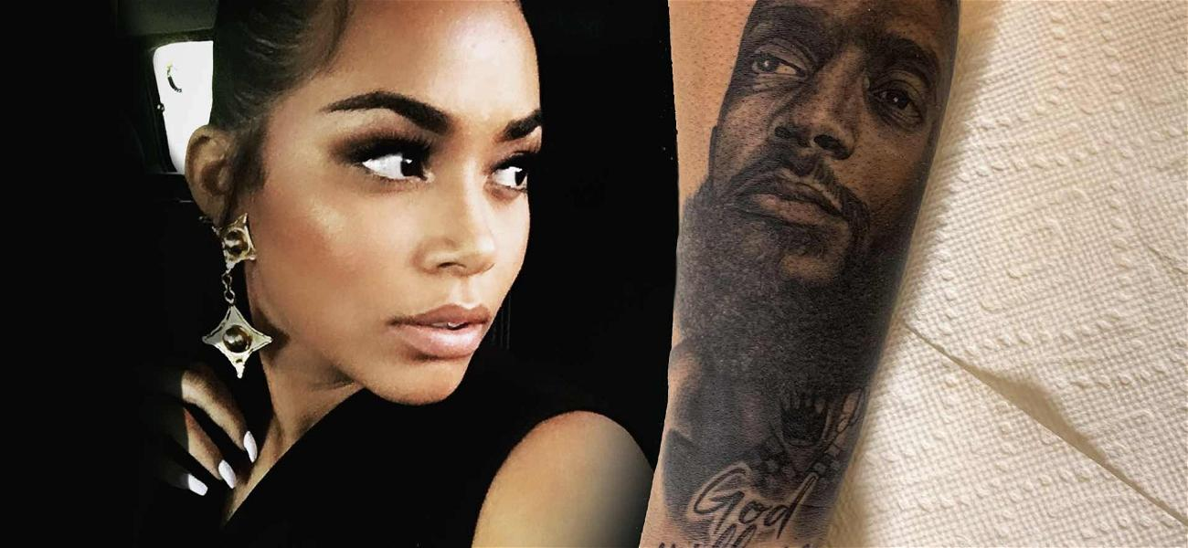 Lauren London Gets Nipsey Hussle's Face Tattoo on Her Arm: 'Real Love Never Dies'