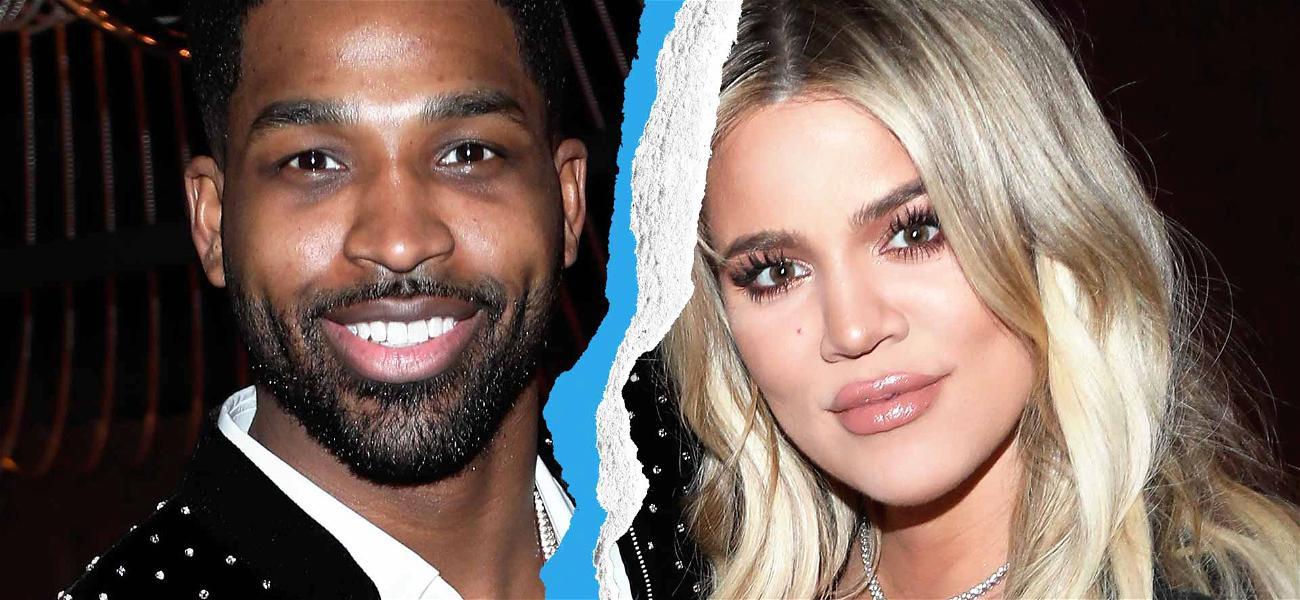 Khloé Kardashian & Tristan Thompson Break Up After He Hooks Up with Jordyn Woods