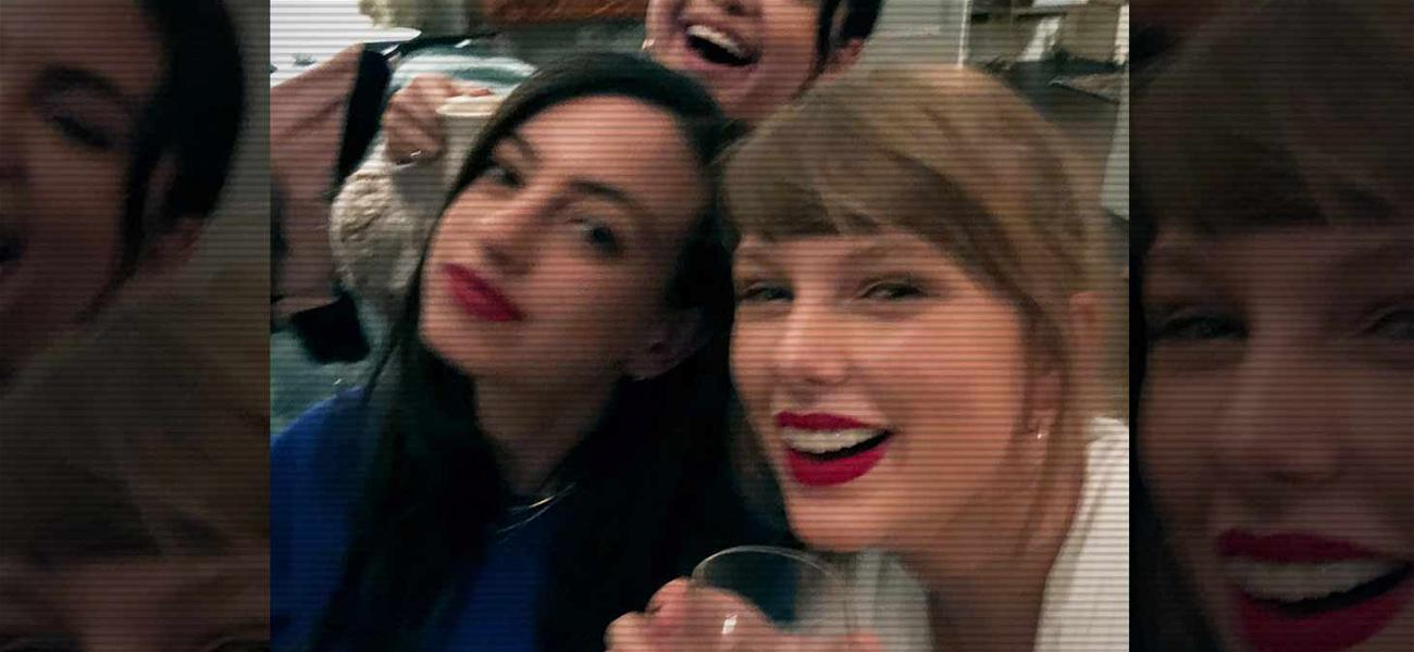 Taylor Swift Has Girls Wine Night with Selena Gomez