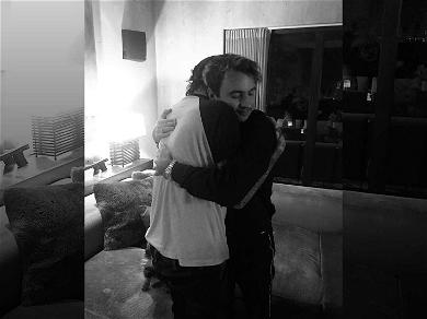 Tommy Lee and Son Brandon Hug It Out After Tumultuous Year