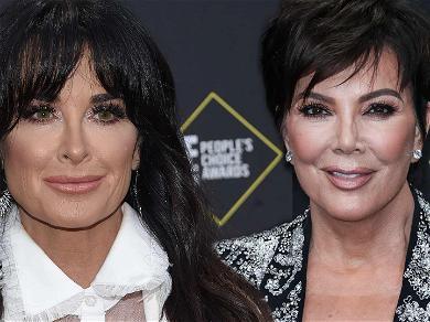 'RHOBH' Star Kyle Richards Fundraiser Brings in $100k, Kris Jenner Donates Hefty Sum
