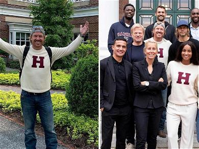 Ciara, Chip and Joanna Gaines, and Kevin Love Pretend They Graduated From Harvard