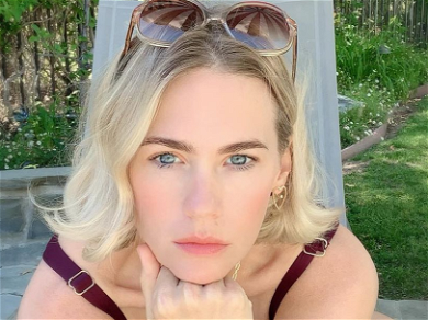 January Jones Goes Pixie Pink For New Hairstyle: 'What A Difference'