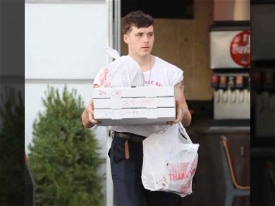 Brooklyn Beckham Triples Up on Pizza After GF Chloe Grace-Moretz's Bday