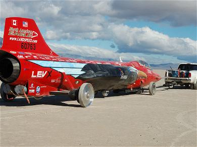 Jessi Combs' Jet-Car Crashed After Failing To Stop, Traveling Beyond Edge Of Lake Bed