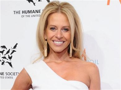 'RHONJ' Star Dina Manzo All Smiles After Ex-Husband Charged For Hiring Hitman To Attack Her Current Husband