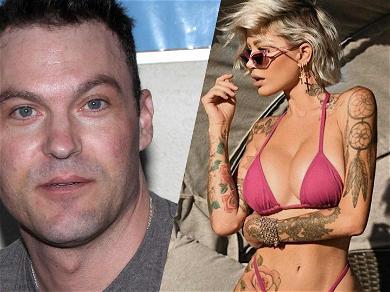 Brian Austin Green Takes Top Off With Tina Louise After Teasing Megan Fox Reunion