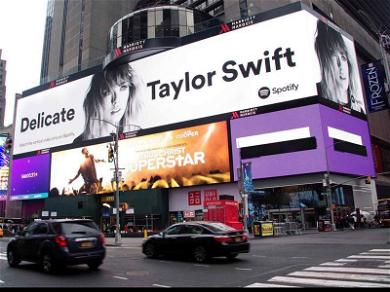 Taylor Swift Humblebrags Over Huge Ad in Times Square