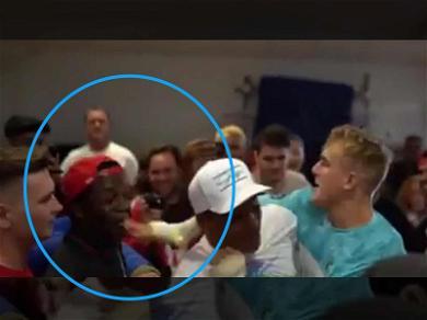 Jake Paul Cheap Shots YouTube Star Deji During Boxing Gym Face Off
