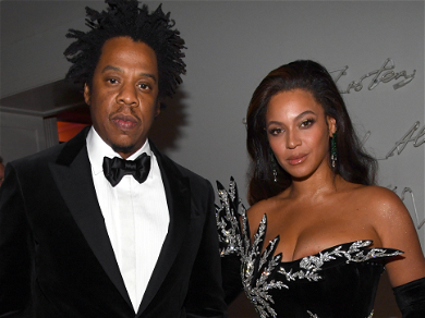 Jay-Z Snatches Cell Phone Of Man Creepily Filming Beyoncé At Diddy's 50th Birthday