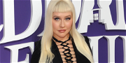 Christina Aguilera Gives Off Sexy Morticia Vibes During 'The Addams Family' Premiere