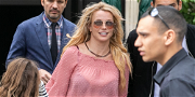 Britney Spears Leaves Hawaii, Heads Home to Face Family Drama With Dad & Son