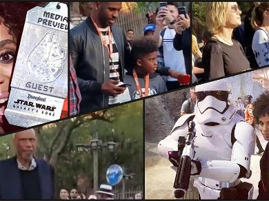 Kerry Washington & Brie Larson Join Famous Fans at Opening of 'Star Wars' Land