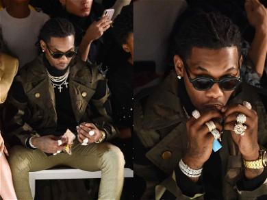Offset Sparks Up Controversy During NYFW Show