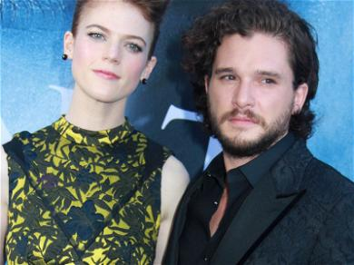 'Game of Thrones' Stars Kit Harington and Rose Leslie Get Engaged