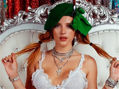Bella Thorne Feels 'Cute' While Rocking Pigtails In Cozy New Photos