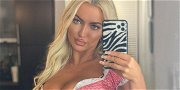 Lindsey Pelas Sends Love to the Lonely With Curvy Quarantine Shot