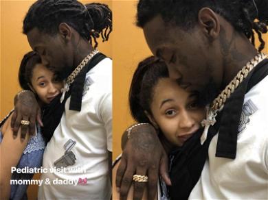 Cardi B and Offset Take Baby Kulture to Doctor's Appointment in First Photo of Proud Mama