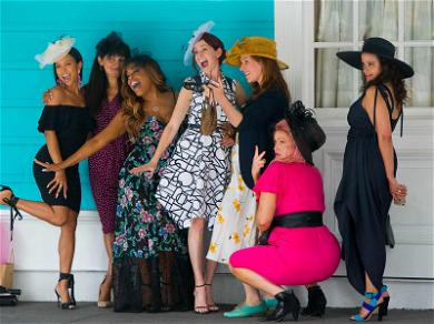 Niecy Nash & Karrueche Tran Put Their Claws Out and Hats On for Carrie Preston's Birthday