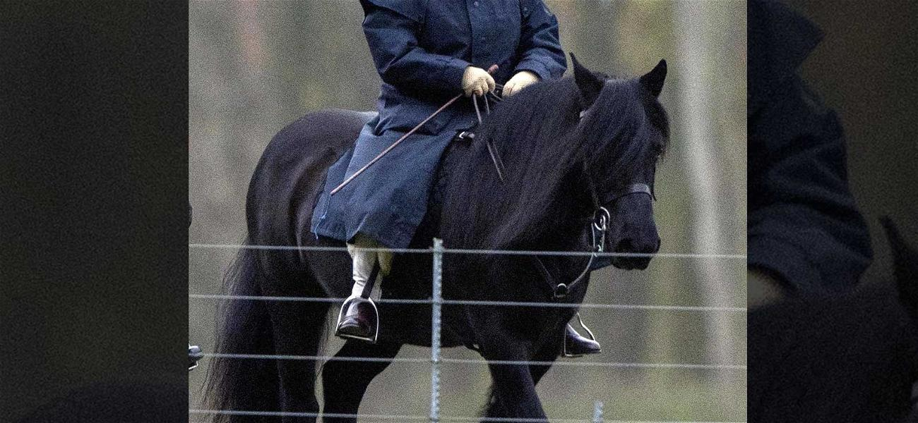 Queen Elizabeth II Rides a Horse, England Holds Its Collective Breath