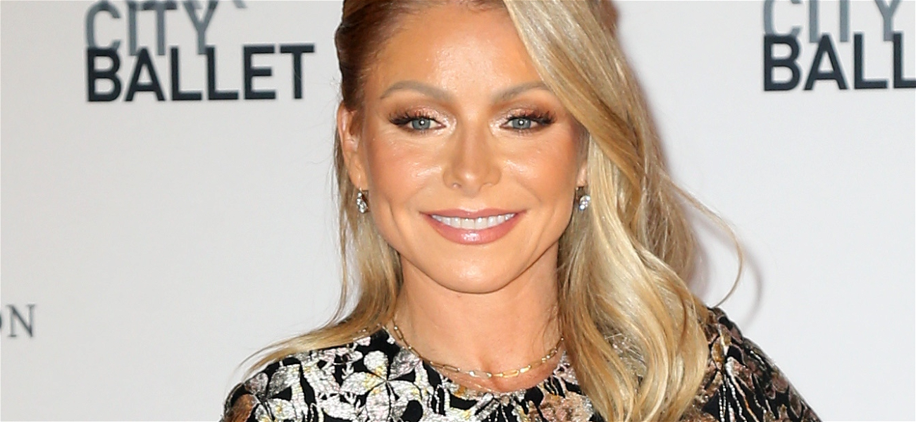 Kelly Ripa Serves Snatched Waist Amid Weight Worries