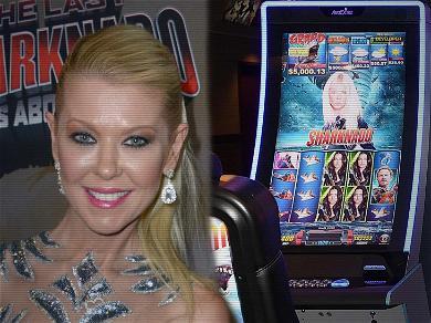 Tara Reid Files $100 Million Lawsuit Over 'Sharknado' Slot Machines