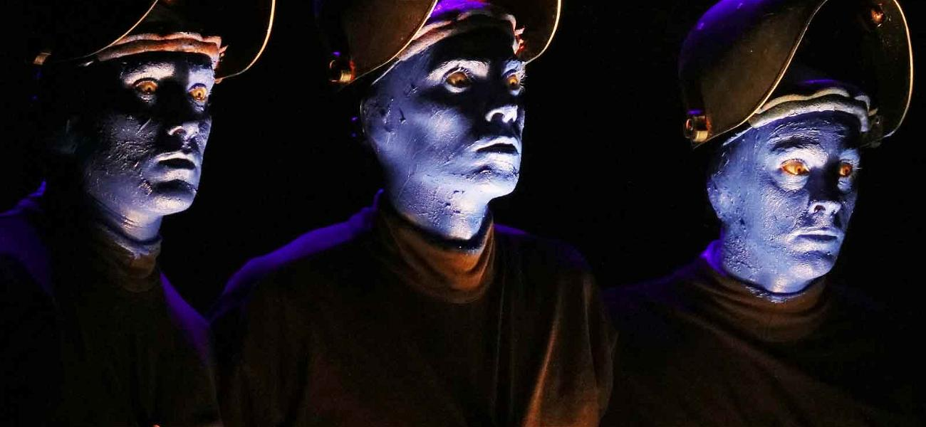 Blue Man Group Claims They're in the Red After Insurance Co. Failed to Have Their Back