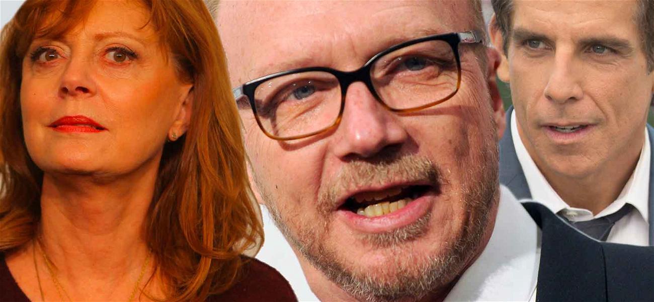 Susan Sarandon & Ben Stiller Take Over Charity After Paul Haggis Resigns