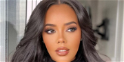 Angela Simmons Shows Off 'Big Goals' In See-Through Top Black Bra Combo