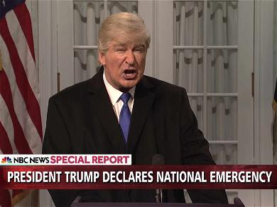 Donald Trump Lashes Out at 'SNL' Over 'Very Unfair' Sketch Mocking National Emergency Speech