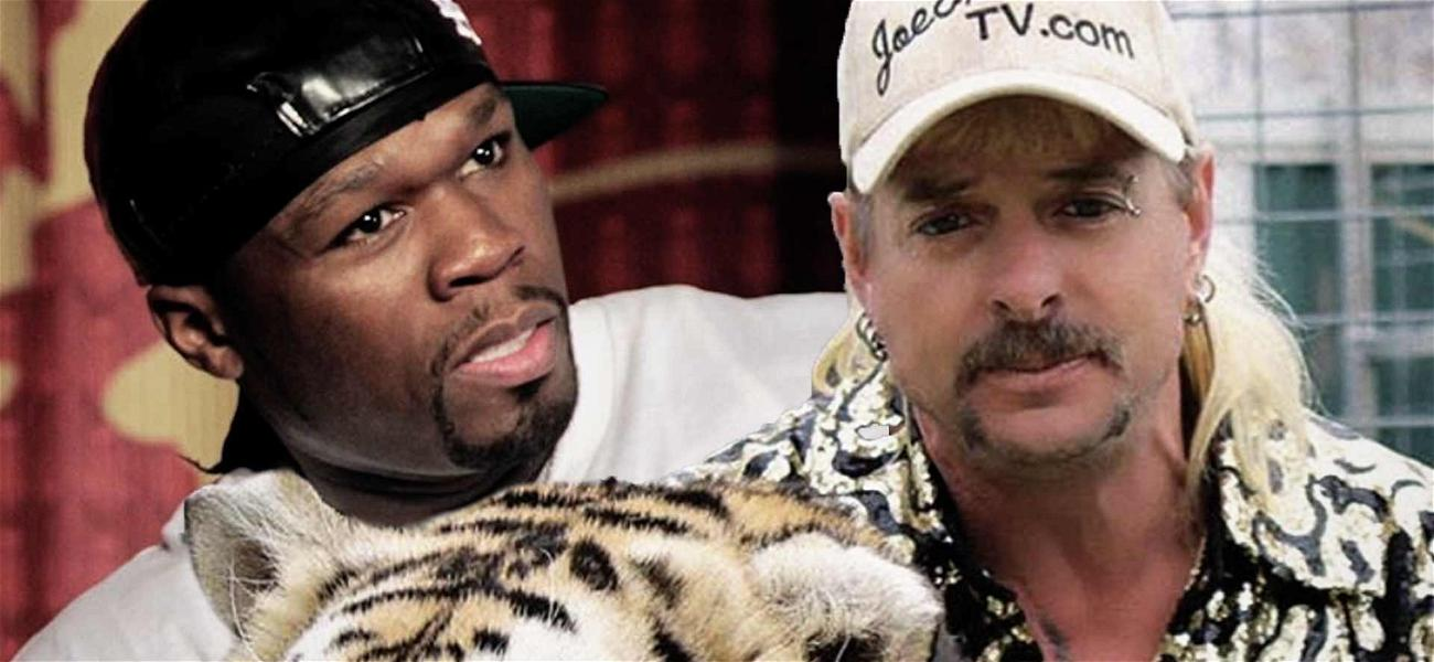 50 Cent Turned Into Joe Exotic In Must-See 'Tiger King' Meme