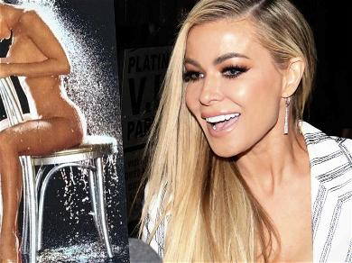 Carmen Electra Gets the Weekend Going By 'Cooling Off' With Naked Playboy Throwback