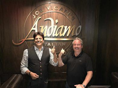 Erik Estrada Cashes in His Vegas 'CHiPs' for Fancy Steak Dinner