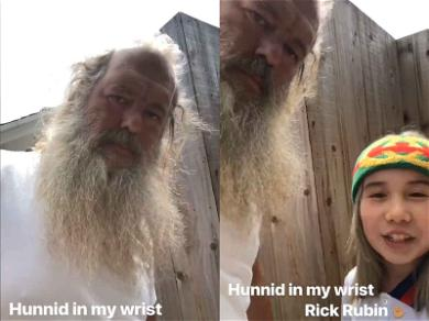 Lil Tay Hung Out With Rick Rubin, But He's Not Allowed to Talk About It