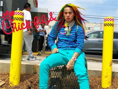 Tekashi 6ix9ine Ain't Chicken in L.A. … Unless He's Hungry