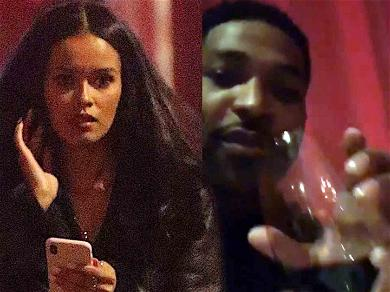 Tristan Thompson Meets Up with Pretty Lady for Pasta Dinner