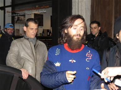 Jared Leto Pays Tribute to Bataclan Victims