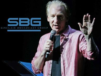 Sinclair Supports Bill Maher After He Calls Boycotts a Form of 'Bullying'
