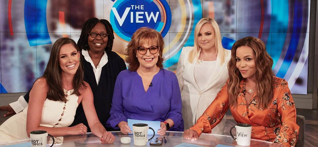Meghan McCain Returns to 'The View' and Takes Aim On 'Gun Grabbers'