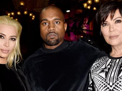 Kanye West DELETES Tweets About Kim Kardashian And Kris Jenner After Backlash