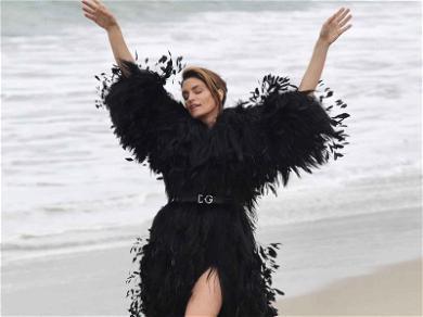It's a Bird, It's a Plane … No, it's Cindy Crawford!