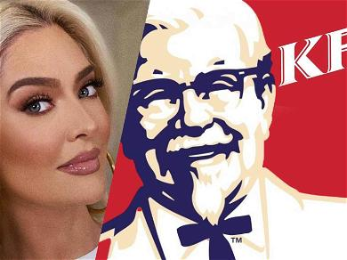 Erika Jayne Hits Up KFC For Dinner Amid Serious Financial Issues